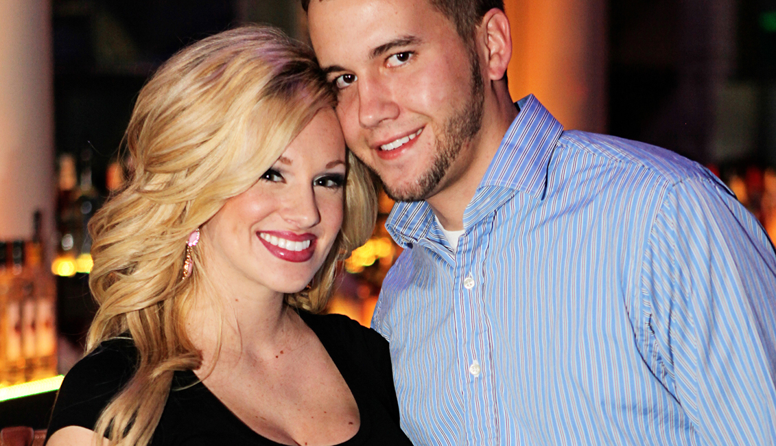 Cute Smiling Couple At Night Clubs, Baton Rouge, LA Photo - The Penthouse Club