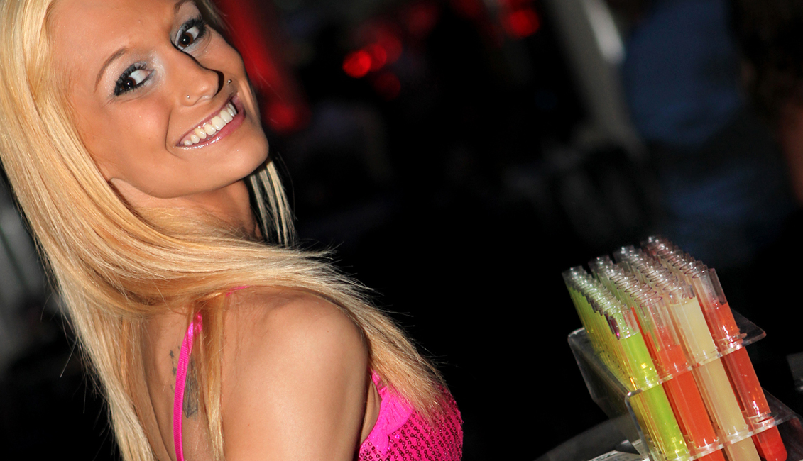 Photo Of Shot Girl, Night Clubs, Baton Rouge, LA - The Penthouse Club