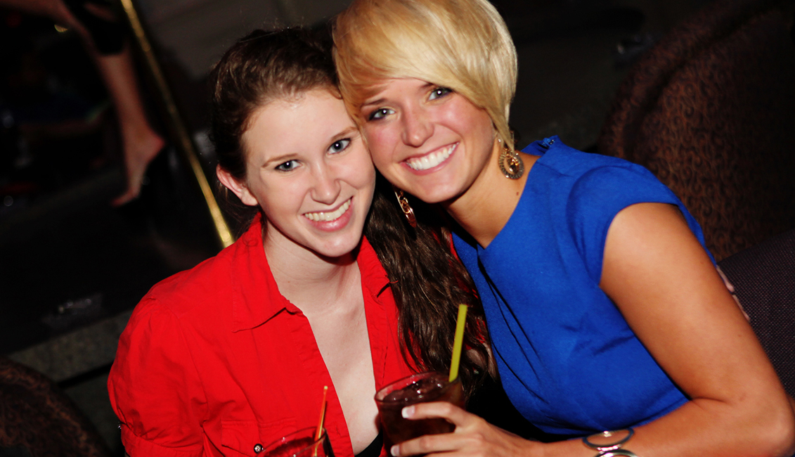 Two Smiling Ladies Photo, Nightlife, Baton Rouge, LA - The Penthouse Club