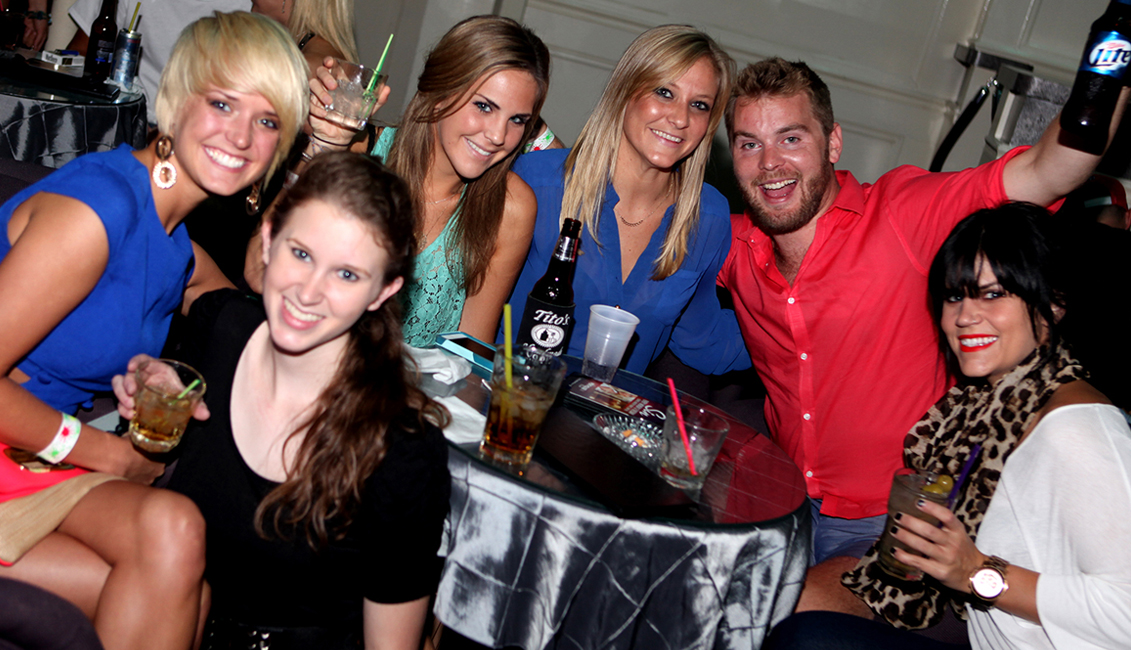 Smiling Partygoers Photo, Nightlife, Baton Rouge, LA - The Penthouse Club
