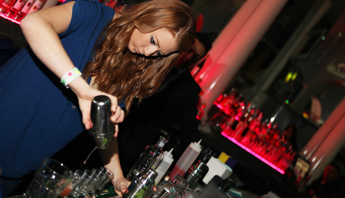 Bartender Pouring Drinks Photo, Nightlife, Baton Rouge, LA Image - The Penthouse Club