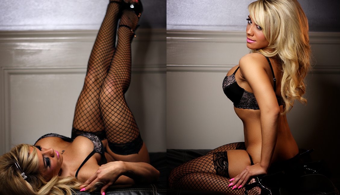 Gorgeous Blonde Two Poses Photo, Clubs Baton Rouge - The Penthouse Club