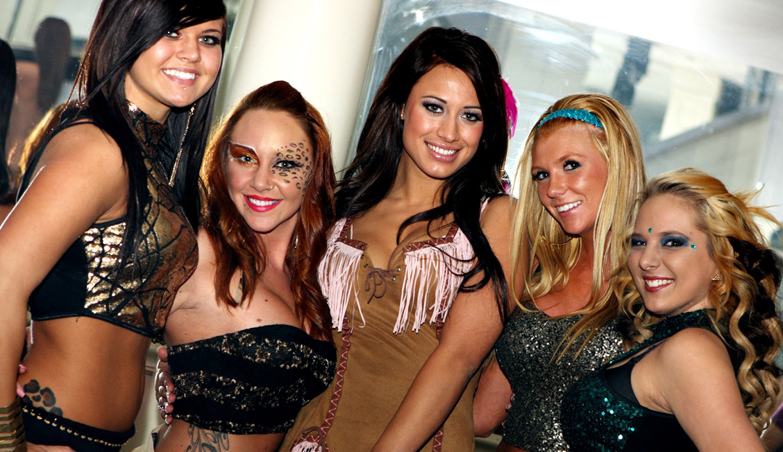 Group Of Dancers At Night Clubs, Baton Rouge, LA Photo - The Penthouse Club