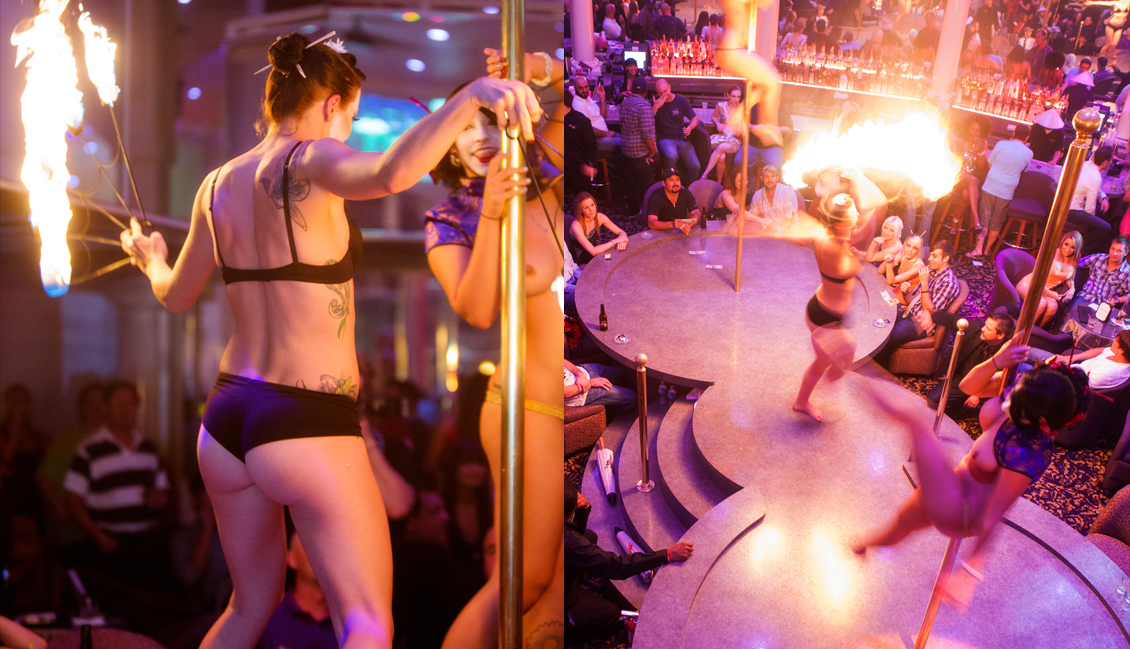 Baton Rouge Strip Clubs, Pole Dance Image - The Penthouse Club