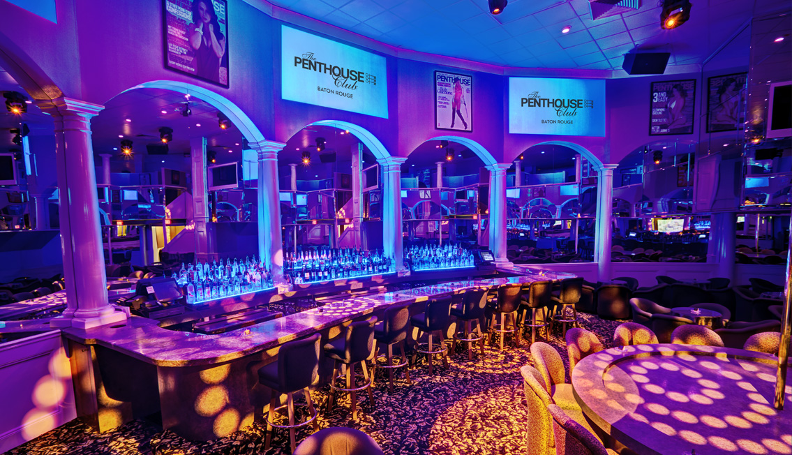 Penthouse Club Back Bar Image, Night Clubs, Baton Rouge, LA - The Penthouse Club Baton Rouge