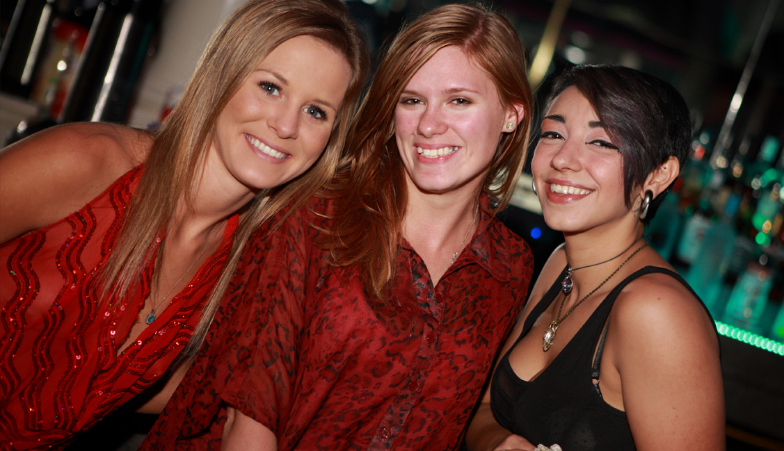 Three Bartender Competition Patrons, Nightlife, Baton Rouge, LA Photo - The Penthouse Club