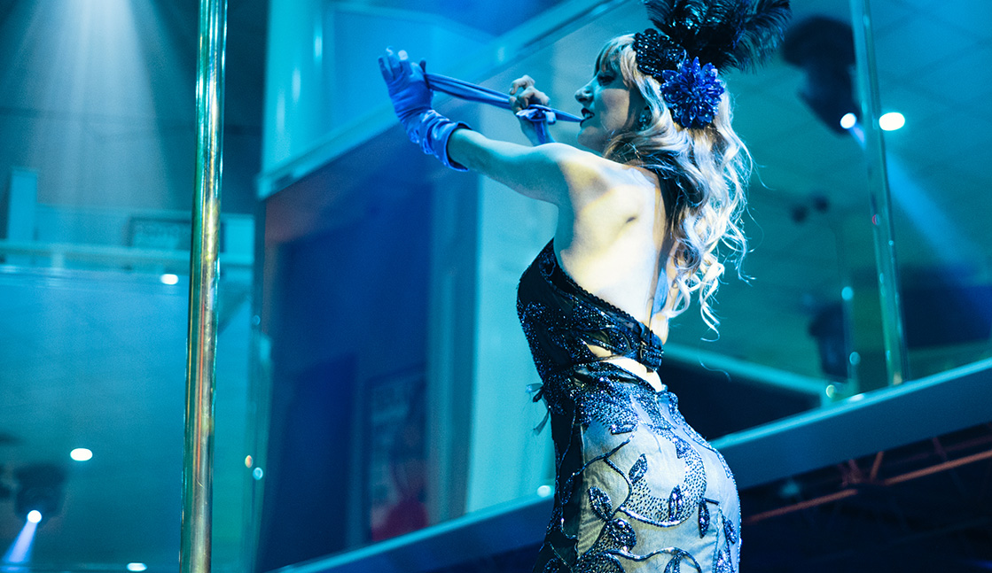 Burlesque Performance Image, Night Clubs, Baton Rouge, LA - The Penthouse Club Baton Rouge