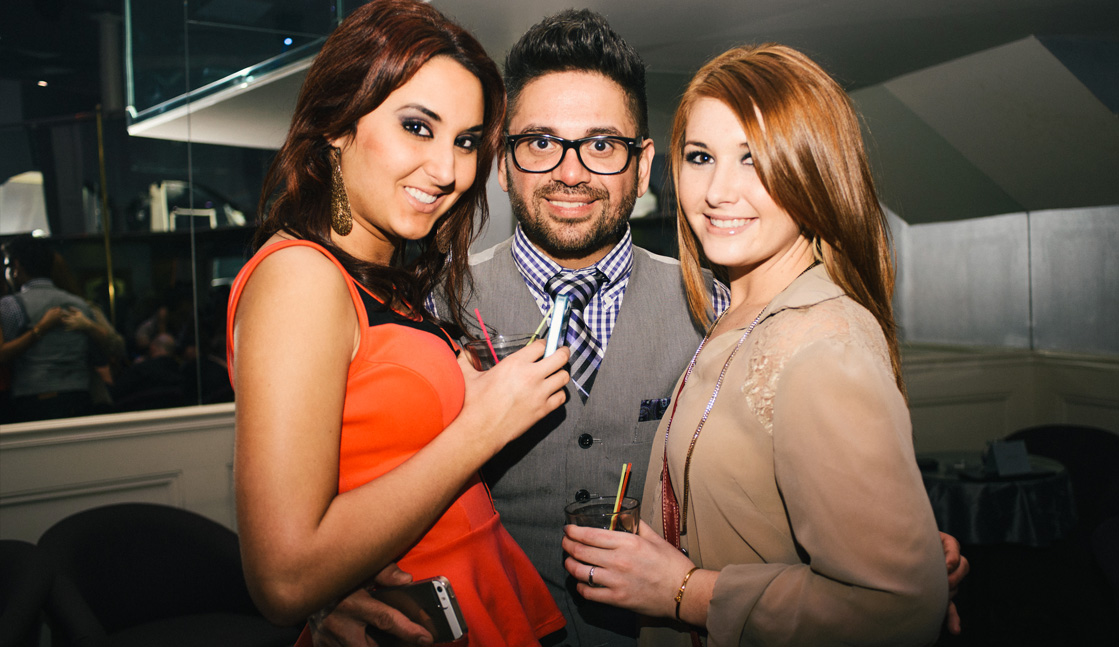 Trio Of Club Guests Photo, Night Clubs, Baton Rouge, LA - The Penthouse Club Baton Rouge